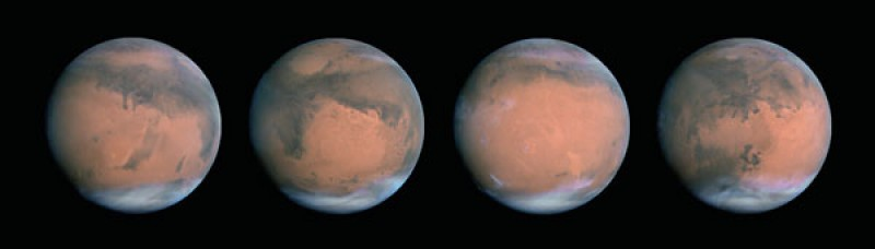 Observe Changes on Mars