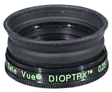 TeleVue Dioptrx Astigmatism Correcting Lens Assembly - 1.00 Diopter