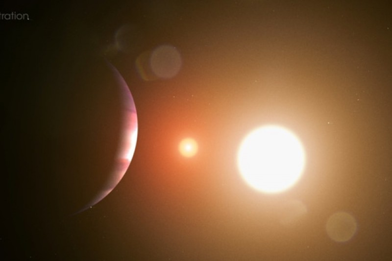 NASA telescope discovers its first planet orbiting two stars