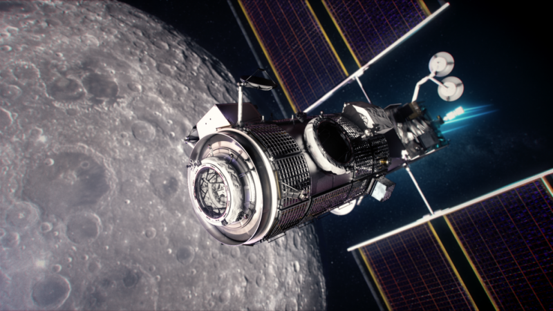 NASA, Northrop Grumman Finalize Moon Outpost Living Quarters Contract