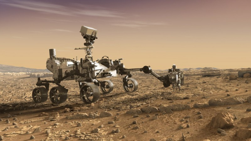 NASA to Brief Early Science From Perseverance Mars Rover