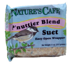 "Animal Supply Company ""Nature's Cafe"" P'Nuttier Blend Suet"