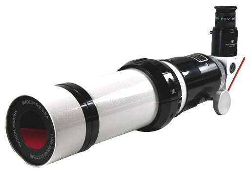 Lunt Solar Systems LS60THaDS 60mm H-alpha Solar Telescope w/ Double Stacked 50mm Etalon System (Pressure-Tuned)