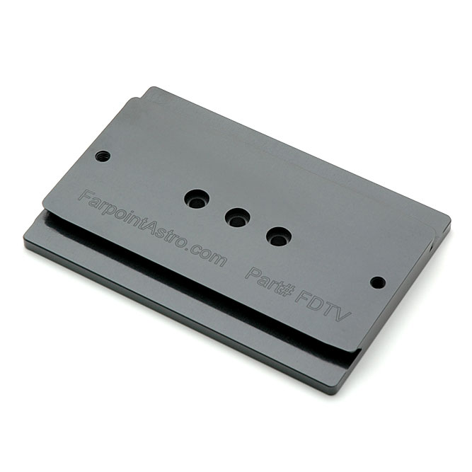 Farpoint Astro Dovetail Plate for TeleVue Clamshell