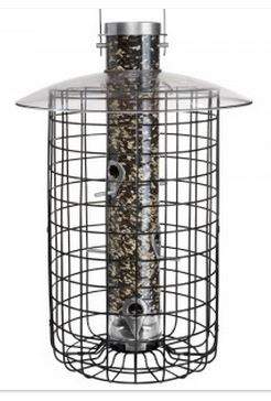 "Droll Yankees 20"" Domed Cage Sunflower Bird Feeder"