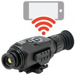 ATN ThOR-HD, 640x480 Sensor, 2.5-25x Thermal Smart HD Rifle Scope w/WiFi, GPS, Black TIWSTH643A
